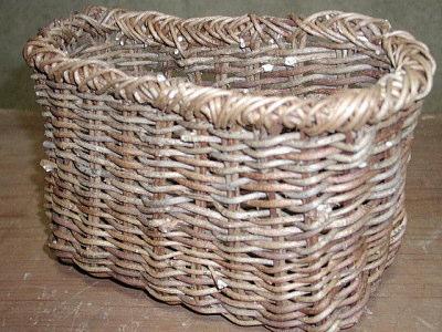 アケビの籠