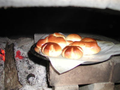 窯焼きパン