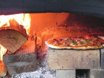 土日限定 窯焼きピザ
