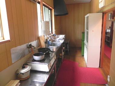 貸切別荘 台所